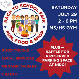NPA Back to School Fair + Win a Reserved Parking Spot