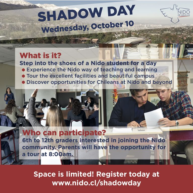Shadow Day at Nido | October 10