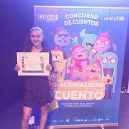 MS student wins honorable mention for her short story in UN & UNICEF competition