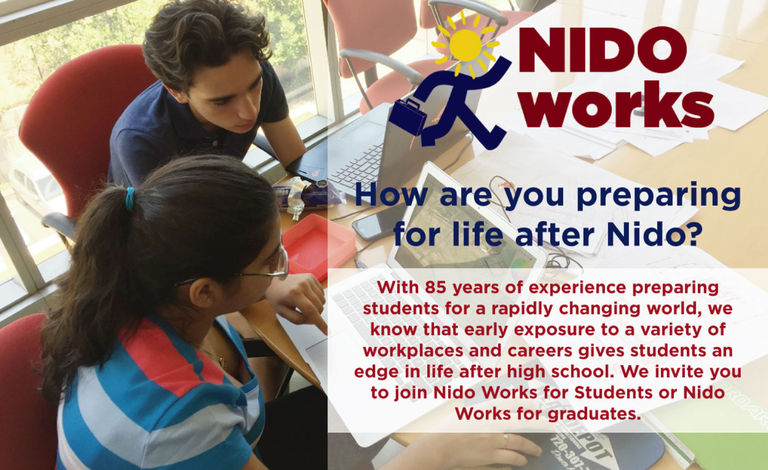 NIDO WORKS SUMMER INTERNSHIP PROGRAM