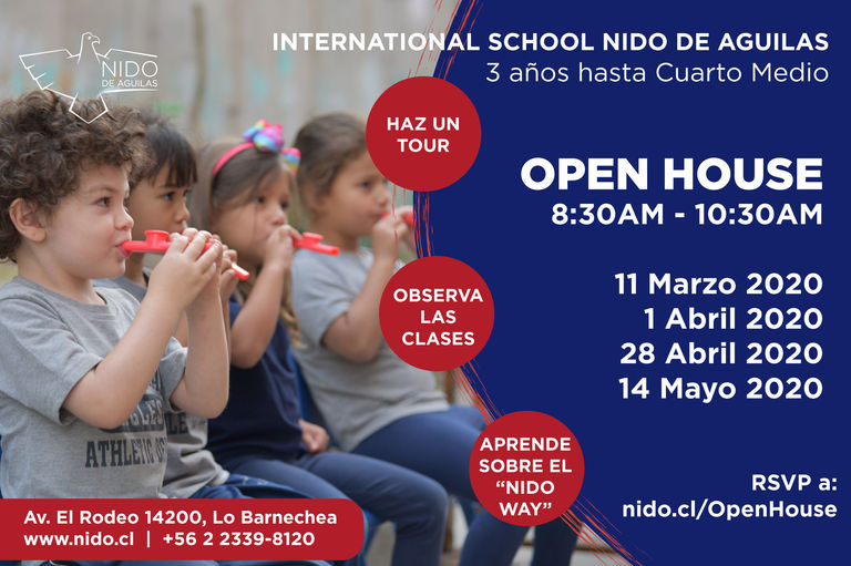 Nido Admissions Open Houses