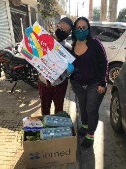 Nido Community Rallies to Support Venezuelan Families During Covid-19 Crisis